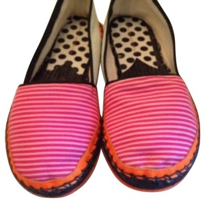 Sophia Webster Black, pink, white and orange Flats