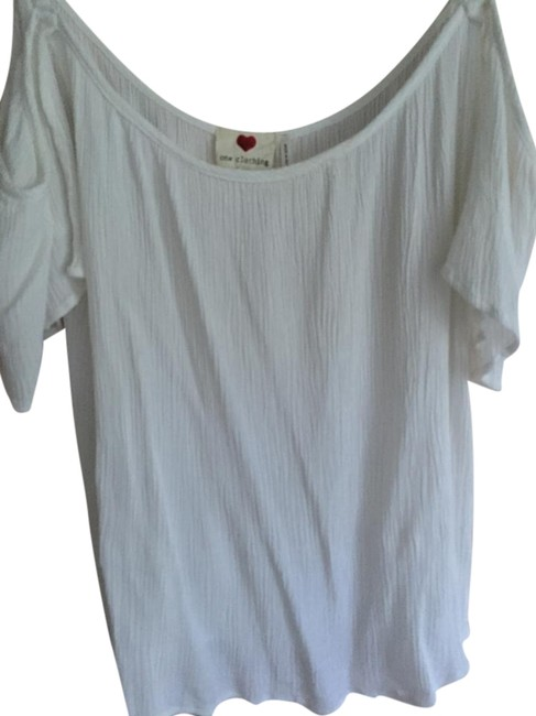 Preload https://item1.tradesy.com/images/one-clothing-top-white-16447465-0-1.jpg?width=400&height=650