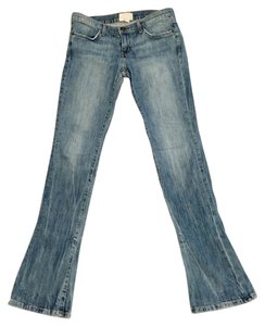 Current/Elliott Boot Cut Jeans-Medium Wash