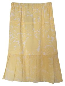 Louis Vuitton Skirt Yellow