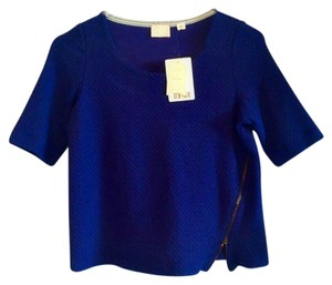 Anthropologie With Tags Xs Top Blue