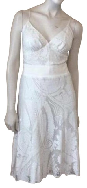 Preload https://img-static.tradesy.com/item/16447876/yigal-azrouel-off-white-knee-length-cocktail-dress-size-12-l-0-1-650-650.jpg