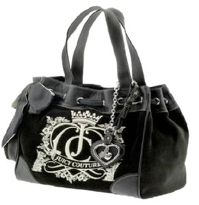 Juicy Couture Daydreamer Tote in black and brown