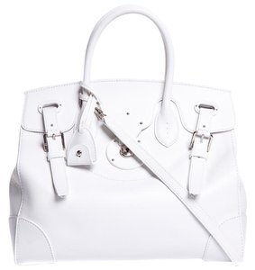 Ralph Lauren Satchel in white