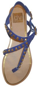 Dolce Vita New Studded Blue Sandals