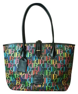 Dooney & Bourke Tote in Black/Multi-Color