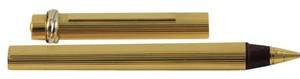 Cartier Cartier Vendome Gold Plated pen pin stripe