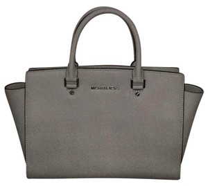 MICHAEL Michael Kors Satchel in Cool Grey