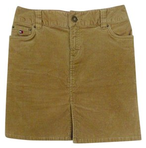 Tommy Hilfiger Mini Skirt Tan