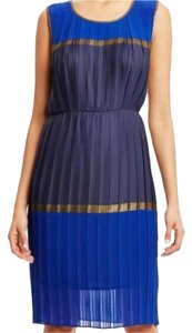 BCBGMAXAZRIA Work Crepe Black Dress