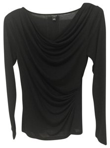 Ann Taylor Retail New Without Tags Ruching Cowl Neck Seller At At Top Black