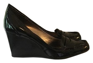 Coach Size 11 Black Wedges