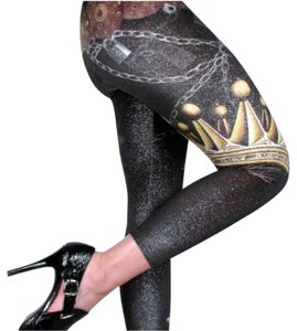 Christian Audigier Multicolor Leggings
