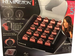 "Remington Hair products 12 large 1-1/4""rollers 8 medium 1"" rollers"