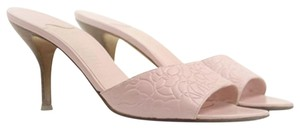 Chanel Light Rose Baby Pink Mules