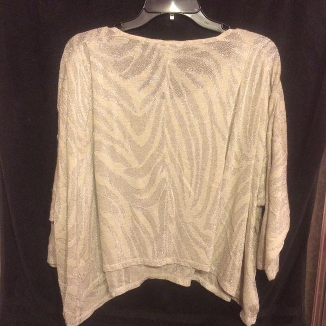BCBGeneration Top Silver/Sand