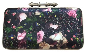 Givenchy Floral Summer Box Obsedia In Printed Leather Black Clutch Clutch