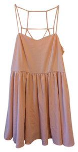 Forever 21 short dress Nude Pink on Tradesy