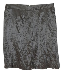 J.Crew Straight Above Knee Occasion Skirt light gray