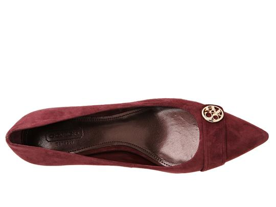 Coach Bordo/Wine Pumps