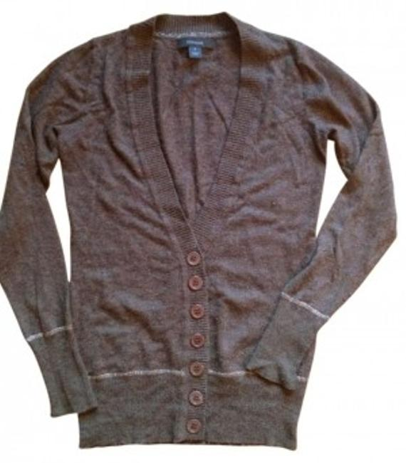 Preload https://item2.tradesy.com/images/express-brown-cardigan-size-4-s-164511-0-0.jpg?width=400&height=650