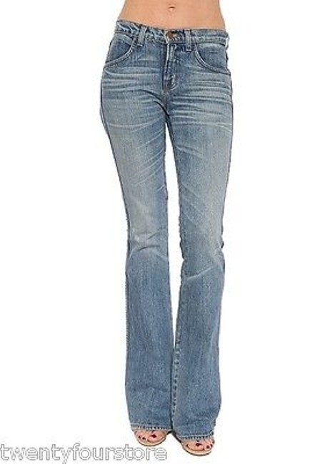 J Brand Henderson Mid Rise Rigid In Wash 25 Boot Cut Jeans