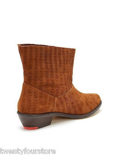 JOE'S Jeans Star Ii Perforated Suede Brown Boots
