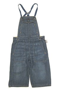 AG Adriano Goldschmied Dainty Overalls Bermuda Shorts 23 Capri/Cropped Denim