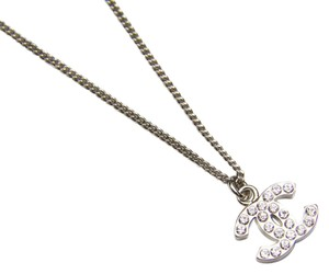 Chanel Chanel CC Pendant Necklace Encrusted with Crystals