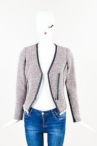Rebecca Taylor Red White Red, White, Gray Jacket
