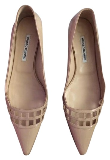 Preload https://img-static.tradesy.com/item/16453957/manolo-blahnik-brown-nude-flats-size-us-105-regular-m-b-0-1-540-540.jpg