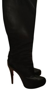 Christian Louboutin Calfskin Leather Black Boots