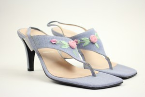 Escada Light Blue Sandals