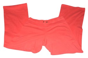 Victoria's Secret Vsx Wide Leg Athletic Pants Coral