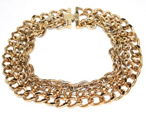 Nova Golden Collared Choker Necklace