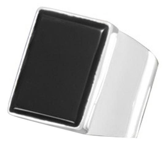 Preload https://img-static.tradesy.com/item/1645457/onyx-sterling-silver-rectangular-black-ring-0-0-540-540.jpg