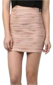 Sparkle & Fade Mini Skirt Pale pink