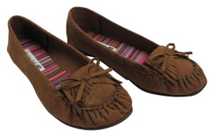 American Eagle Outfitters New Size 8.50 Wide Excellent Condition Brown Flats