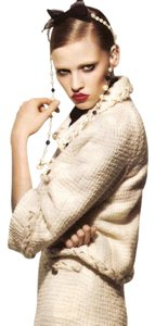 Chanel Tweed Wool ivory Jacket