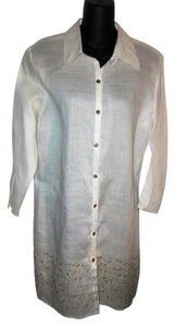 Harris Wallace Embroidered Tunic