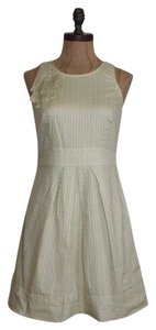 BCBGeneration short dress PALE YELLOW on Tradesy