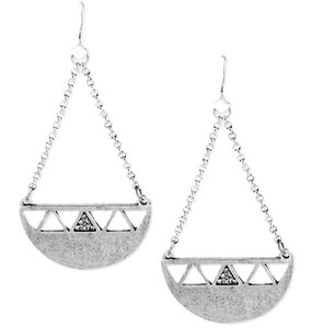 Steve Madden Steve Madden Silver Tone Crystal Chandelier Earrings NWT $24 #SM00291