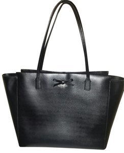 Kate Spade Xl Leather Tote in black