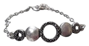 Lucky Brand Lucky Brand Silver Tone Crystal Pave Chain Link Bracelet NWT $29