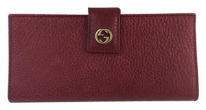 Gucci Gucci Miss GG Leather Continental Wallet 337337