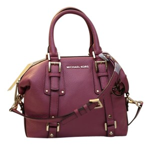 Michael Kors Bedford Satchel in Tulip