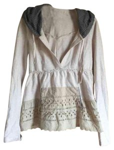 Free People T Shirt Cream overall