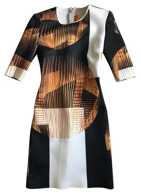 Preload https://img-static.tradesy.com/item/16456891/clover-canyon-white-and-multi-w-black-and-neutrals-neoprene-short-cocktail-dress-size-2-xs-0-1-650-650.jpg