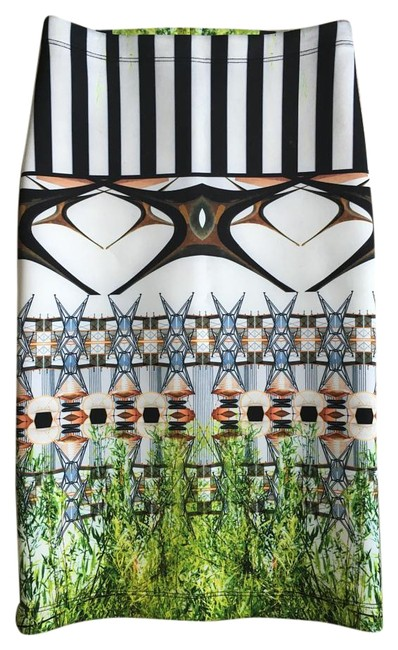 Preload https://img-static.tradesy.com/item/16457026/clover-canyon-black-white-and-greens-neoprene-pencil-skirt-size-2-xs-26-0-2-650-650.jpg