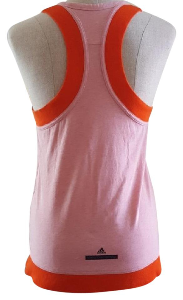 c9310a4785f8 adidas By Stella McCartney Pink Racerback Studio Performance Tank  Activewear Top